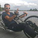 Alex Sportler mit Handicap