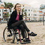 Christine Sportler mit Handicap